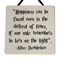 Albus Dumbledore - Harry Potter - Handmade wooden plaque