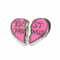 Best Friend double floating charms - fits origami owl