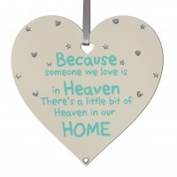 Butterflies hover and feathers appear - SMALL Mint Heart Plaque