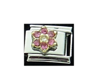 June Flower New Birthstone - Alexandrite - 9mm Italian charm