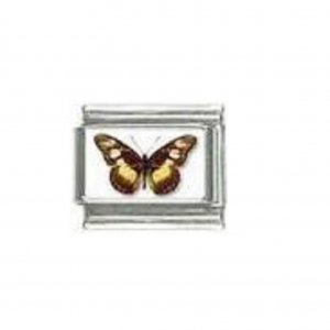 Butterfly photo a102 - 9mm Italian charm