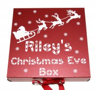 Christmas Eve box - personalised with a name of your choice
