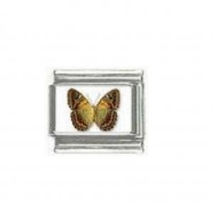 Butterfly photo a96 - 9mm Italian charm