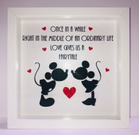 Once in a while - Disney - Box frame