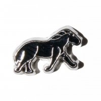 Black horse 9mm floating charm - fits living memory locket