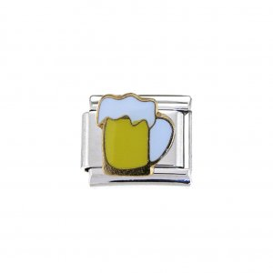 Pint of Beer (a) - 9mm Italian charm
