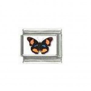 Butterfly photo a115 - 9mm Italian charm