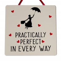 Mary Poppins - Handmade wooden plaque
