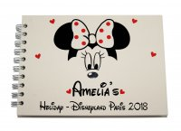 Personalised Disney MINNIE Autograph Scrap Photo Book