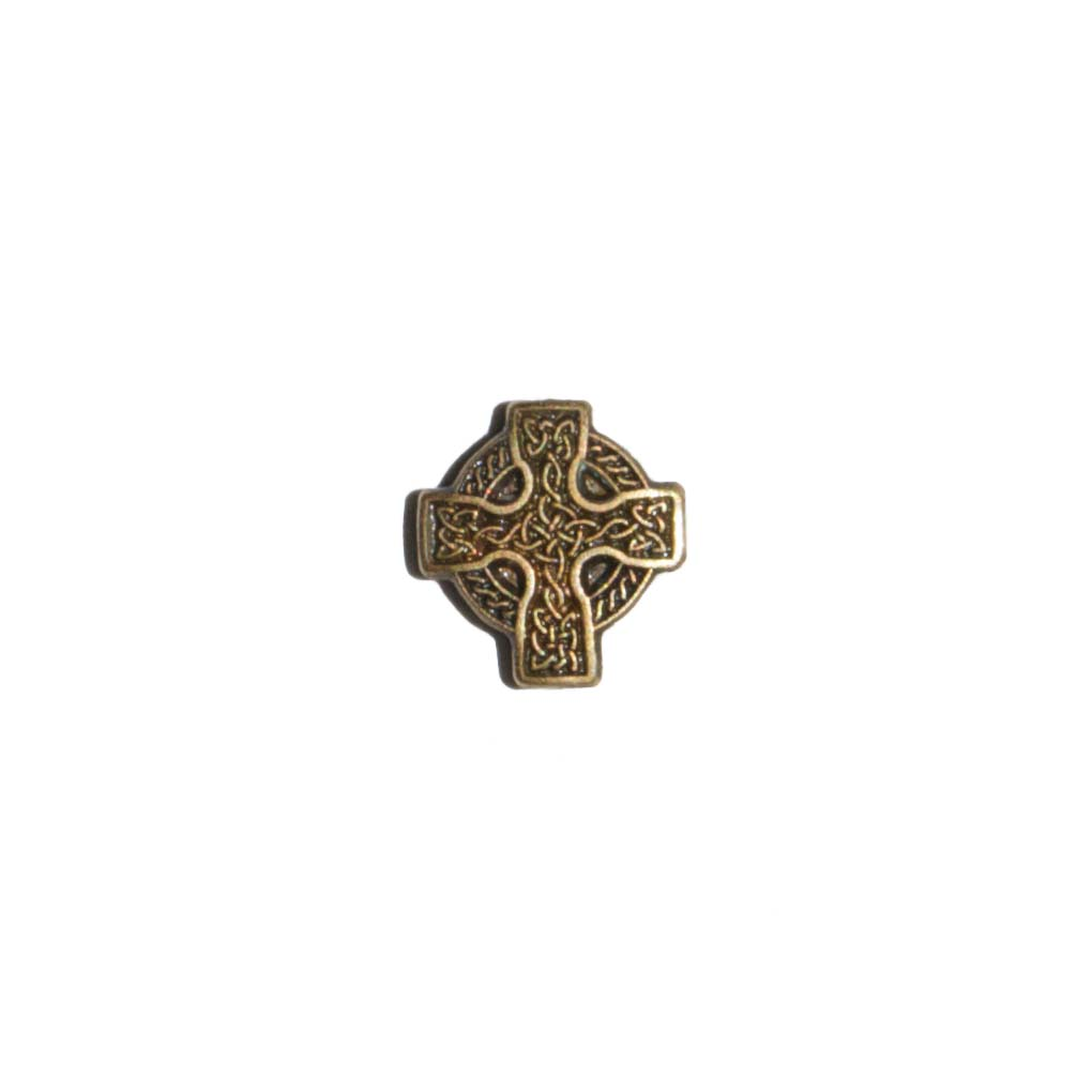 Gothic Cross Floating Locket Charm