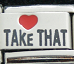 Love Take That - laser charm Italian charm