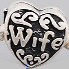 Wife bead - fits European bead bracelets